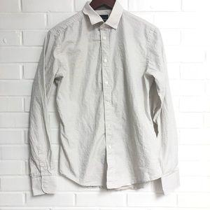 Zara Man Medium Long Sleeve Button Down